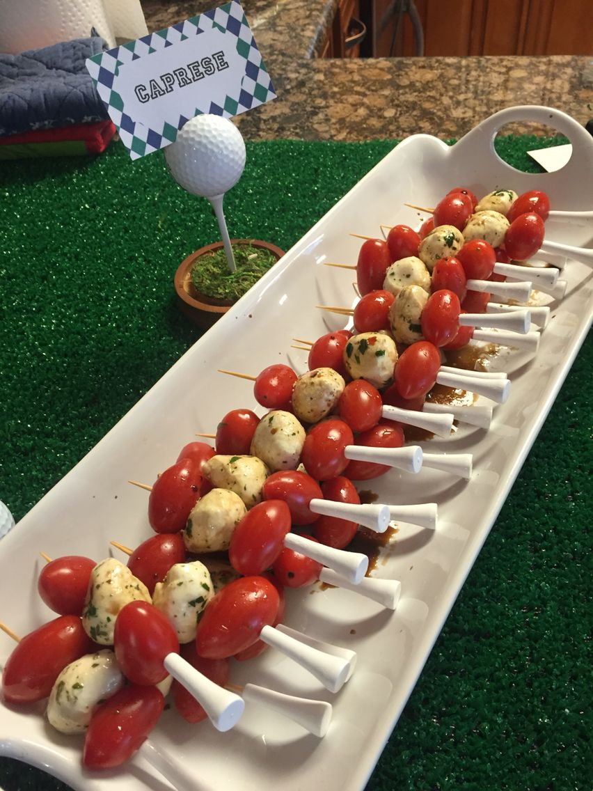 Golf themed baby shower Golf party decorations