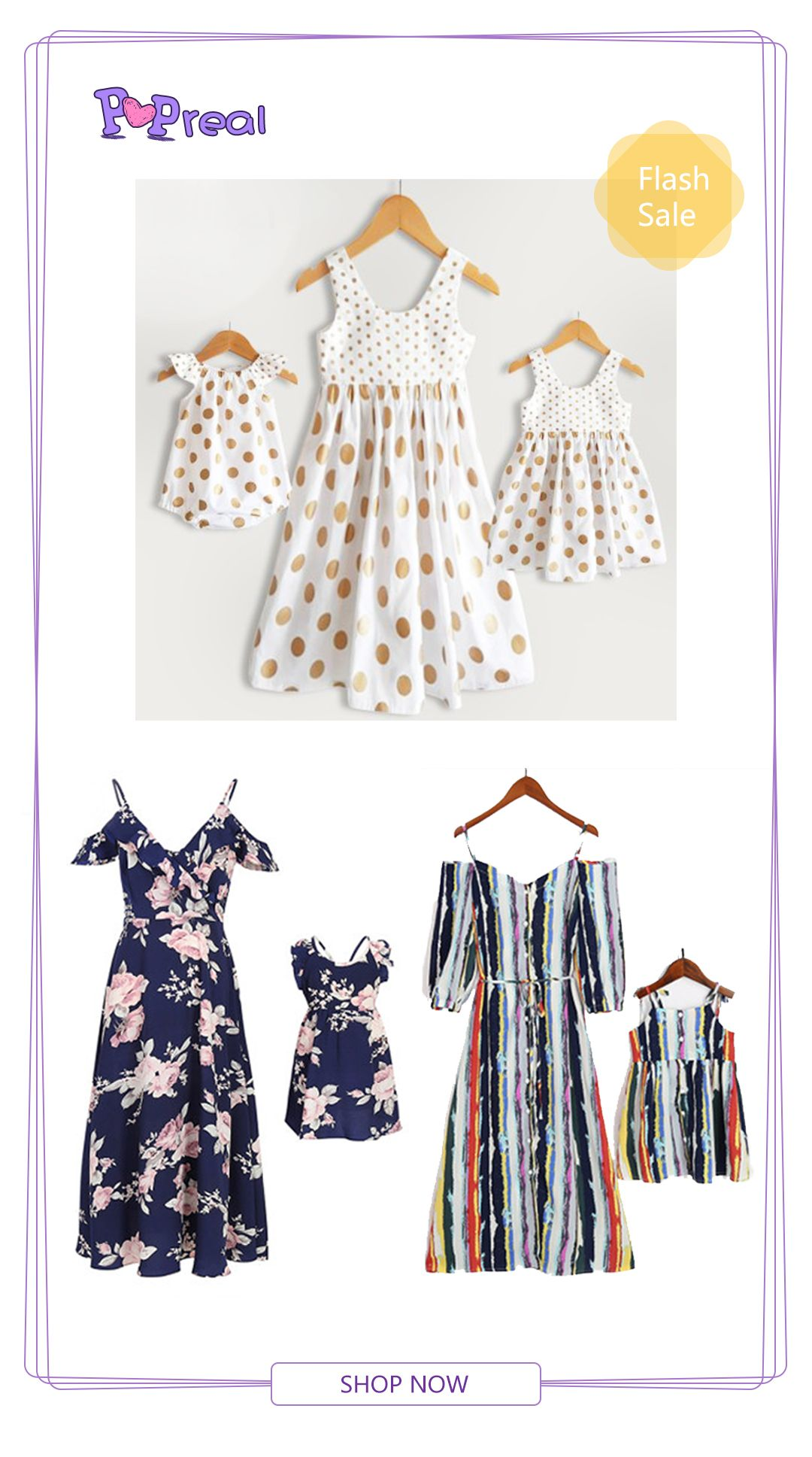 ea1d24812bb Top 10 Mom and girl set for the summer Mom Girl Matching Dress  fashion  2018  summer dress  back to school