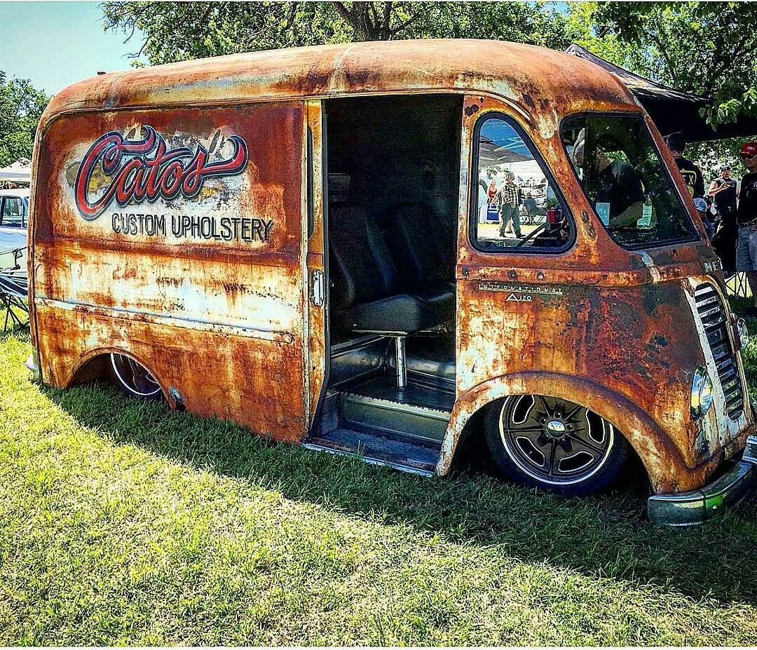 Rusty old Van | Panel's, Wagons & Vans   | Rat rod pickup