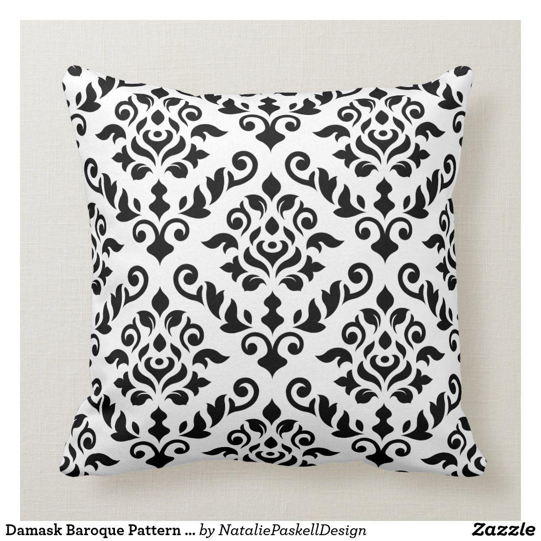 Pin Na Doshci Monochrome Decorative Pillows