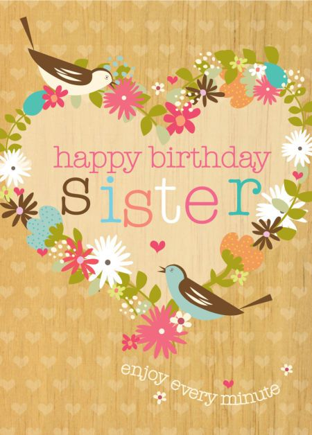 zus gefeliciteerd | persoonlijk - verjaardag zus