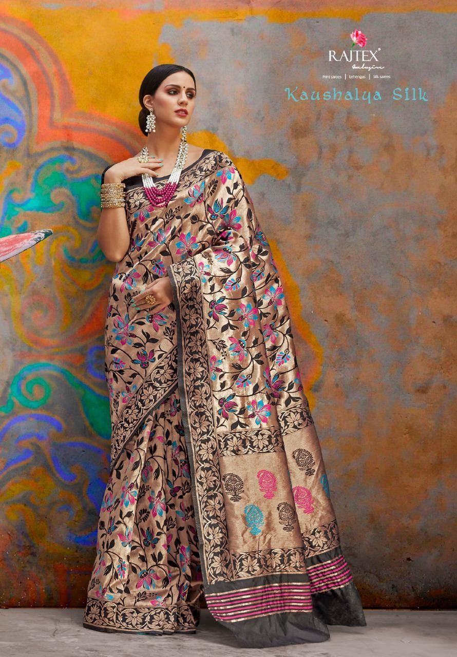 12ea88a8e7 Rajtex Kaushalya Silk Designer Heavy Silk Traditional Sarees Collection at  Wholesale Sarees Collection at Wholesale Rate