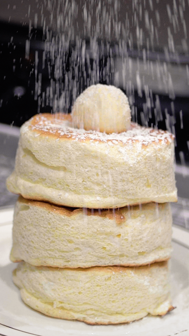 Photo of Fluffy Japanese Souffle Pancakes Recipe
