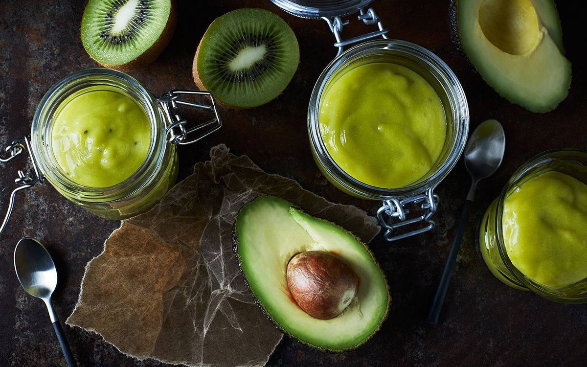 Avokado-kiivi vihersmoothie