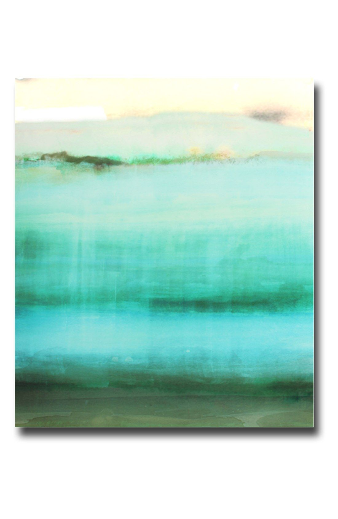 Crystal art gallery shades of green canvas nordstrom