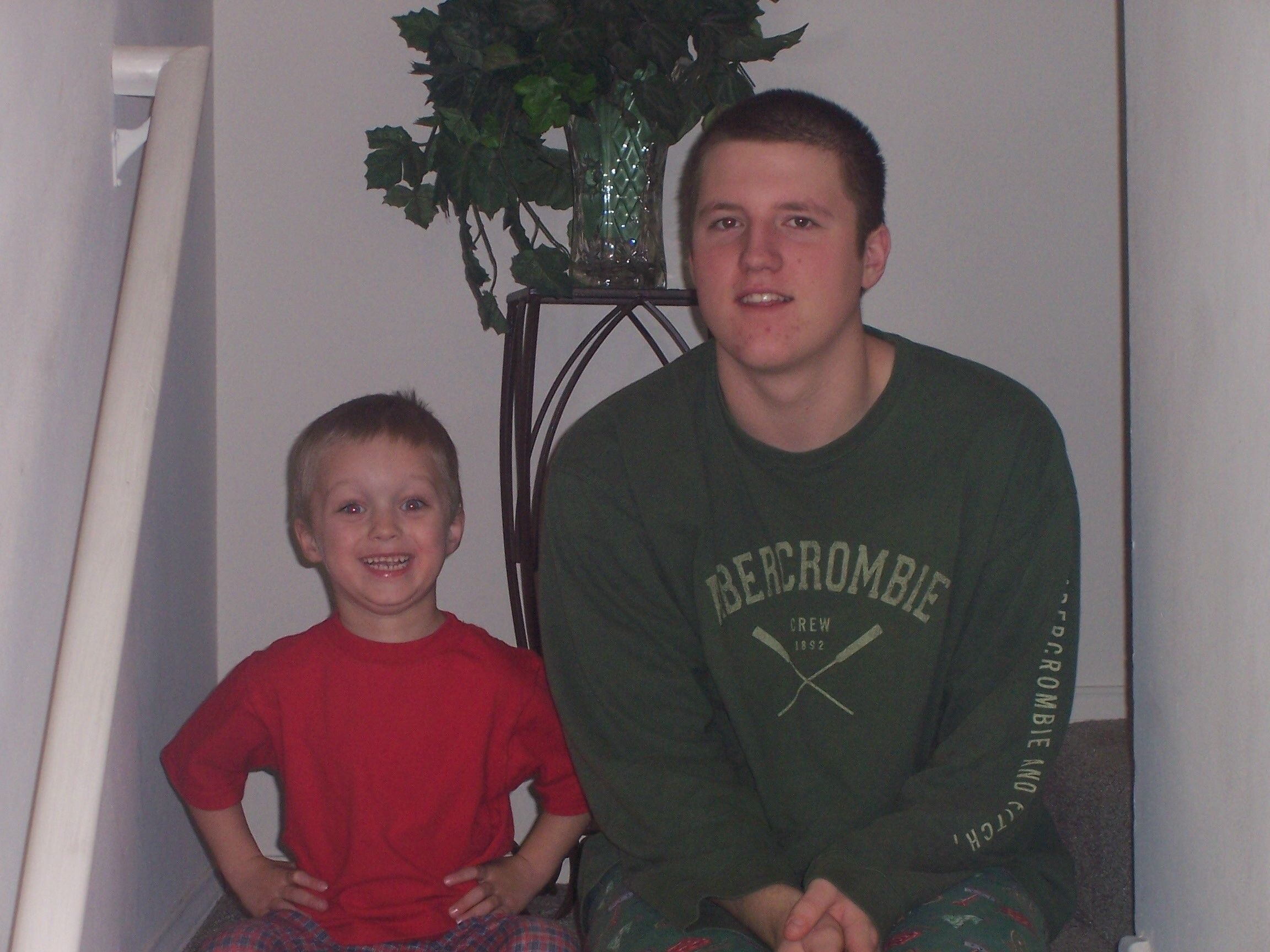 Uncle Jimmy and lil DJ