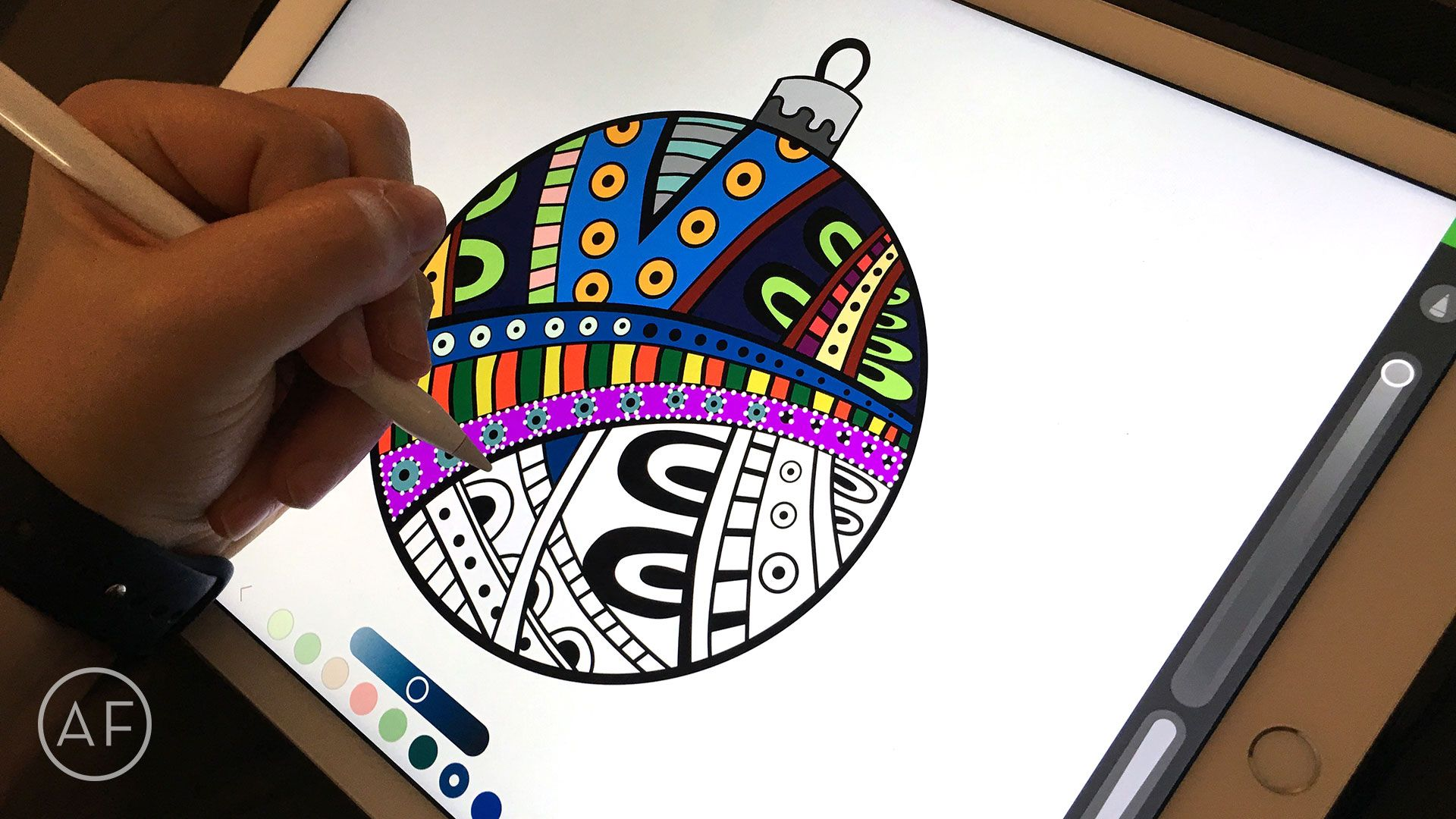 How to color with the iPad Pro and Apple Pencil Apple
