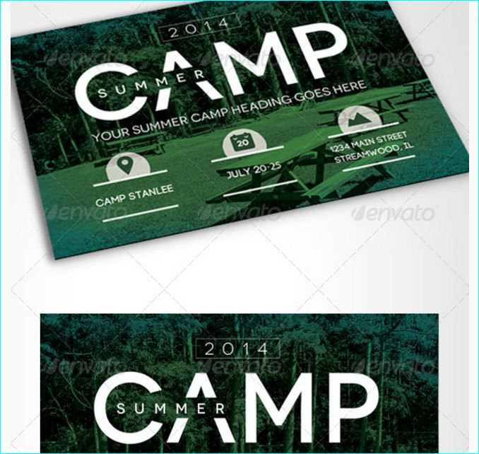 Summer Camp Flyer Template - Party Flyer Templates For Clubs