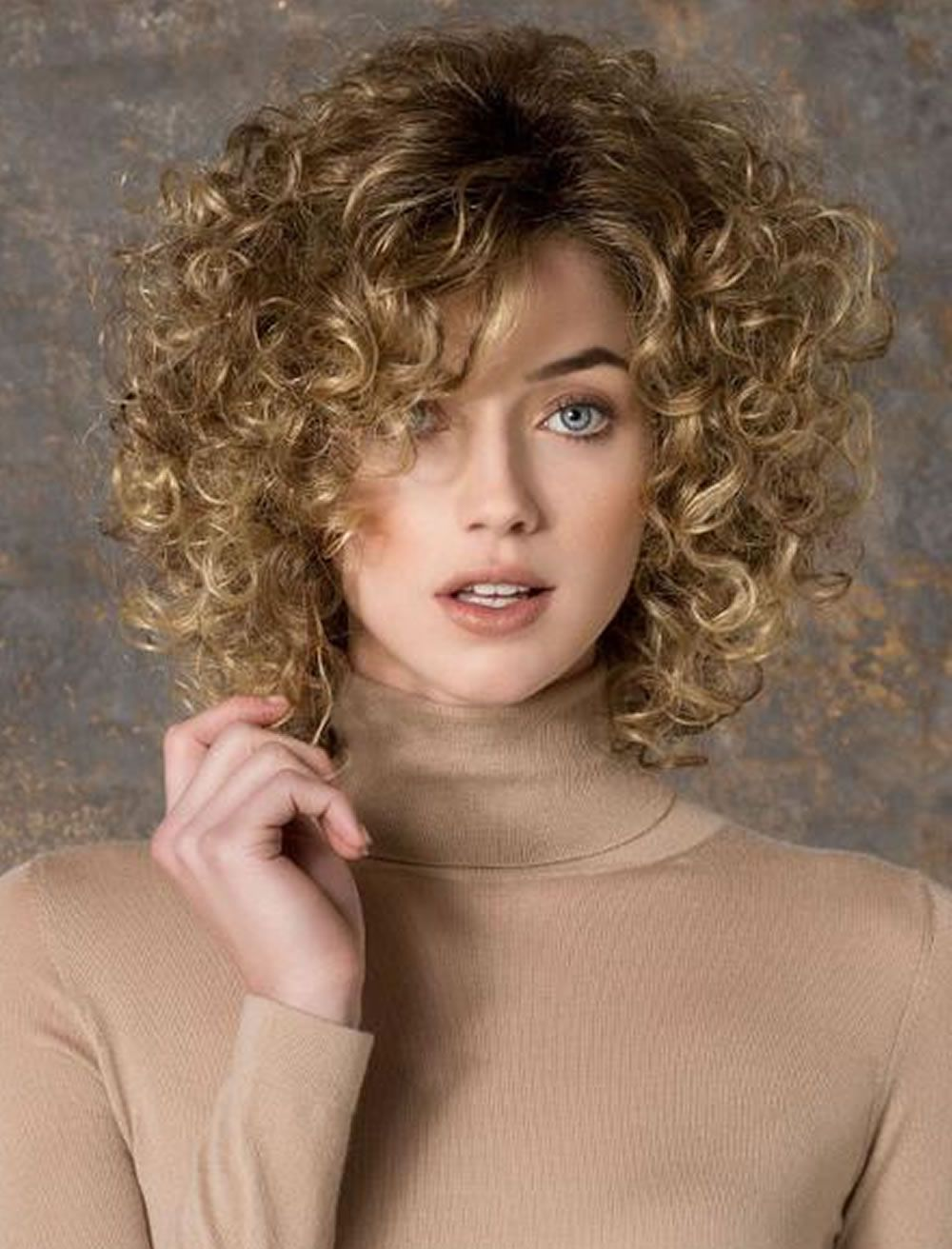 image result for bangs 2018 curly hair | curly hair highlights