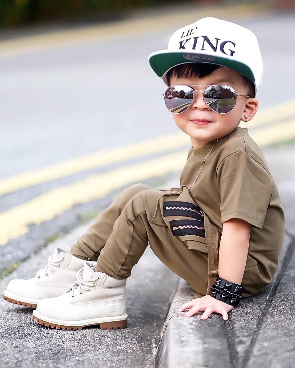 Pin By Michelle On Nine Seven Baby Outfit Stylish Boy Fashion Baby Fashion