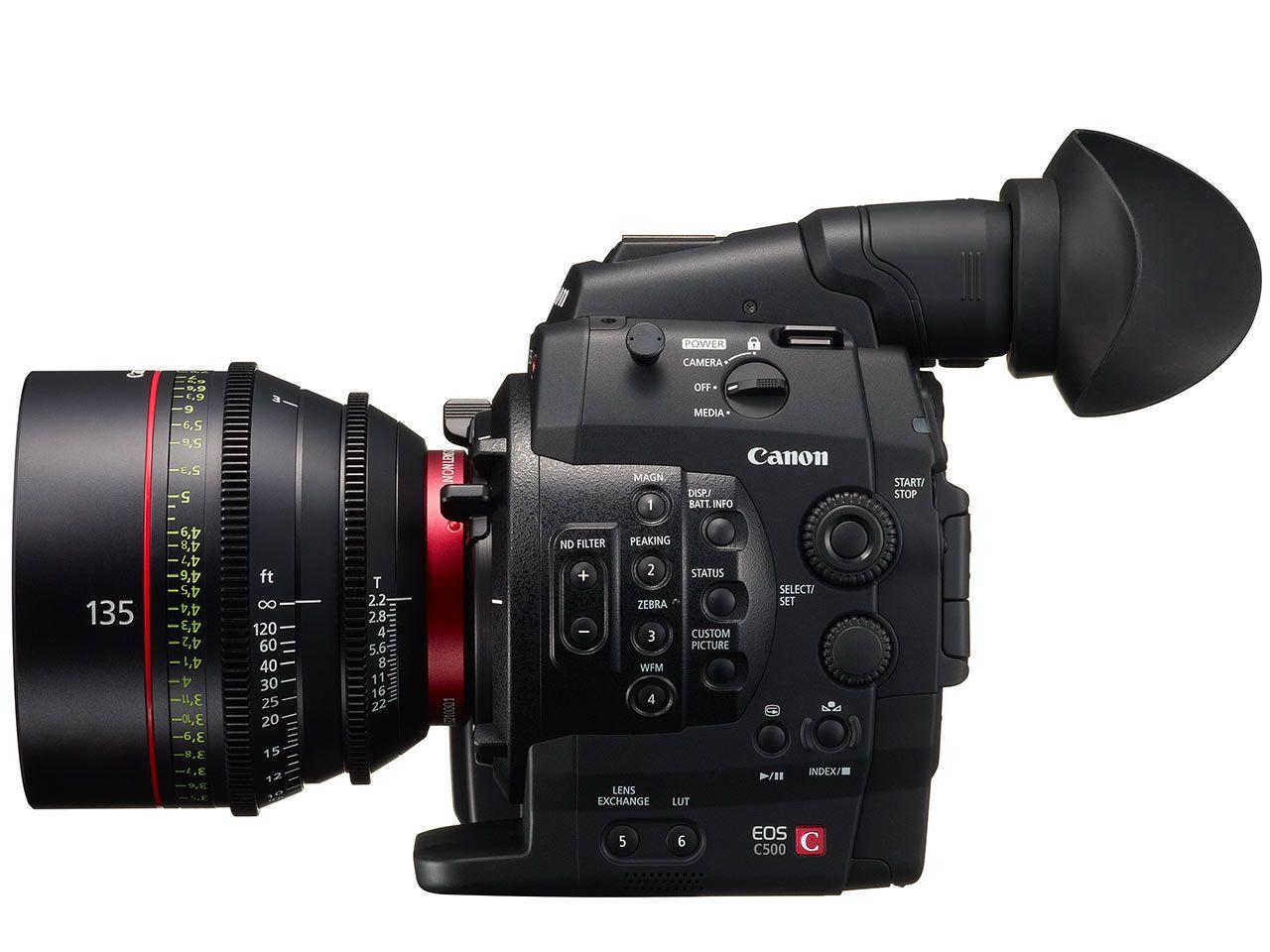 Canon Unveils Eos C500 4k Cinema Video Camera And Four Lenses Camera Canon Camera Video Camera
