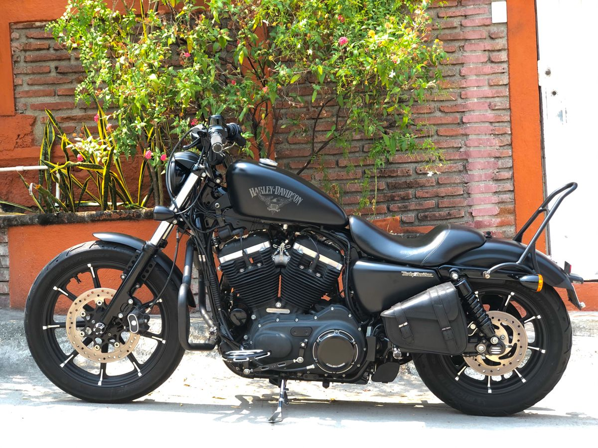 Iron 883 Harley Davidson Pictures Iron 883 Sportster Iron