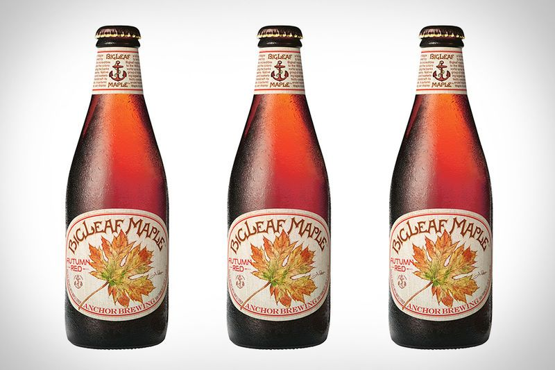 The Big Leaf Maple Beer from Anchor Brewing is a Fall Offering #caramel trendhunter.com
