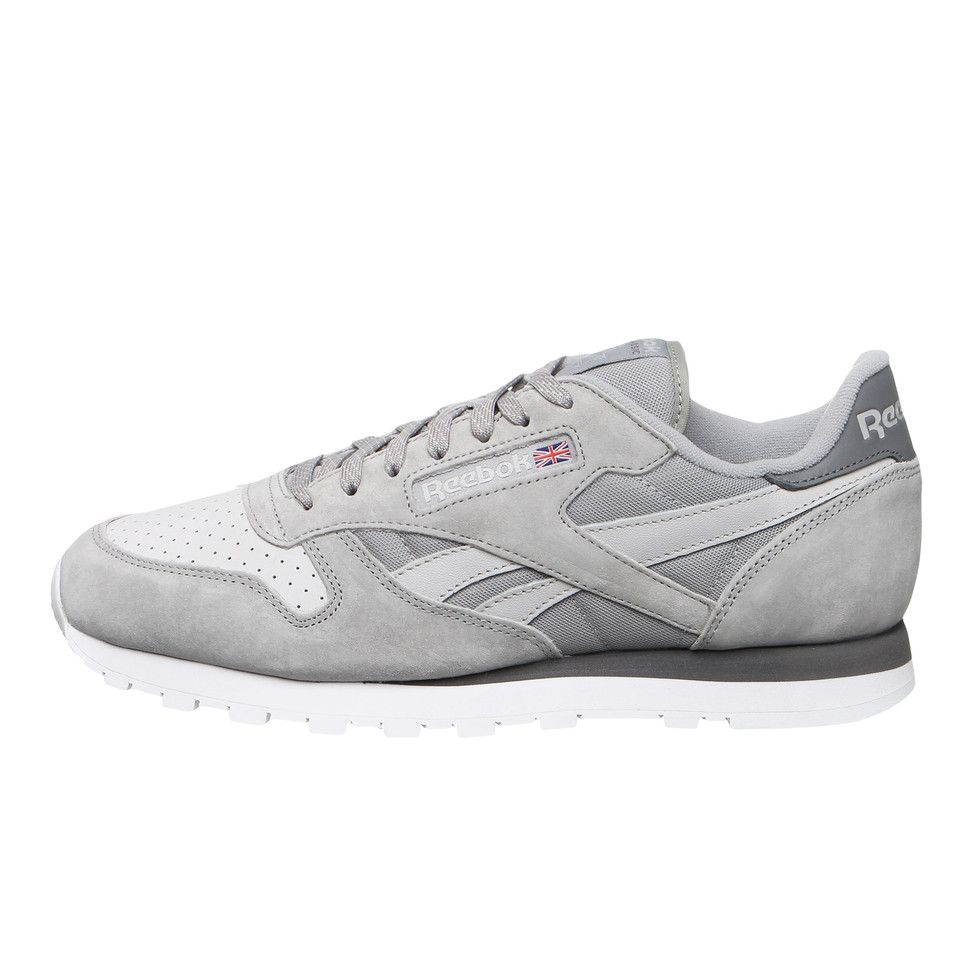 Reebok - Classic Leather NP (Tin Grey   Steel   Shark   White) günstig ec731adde