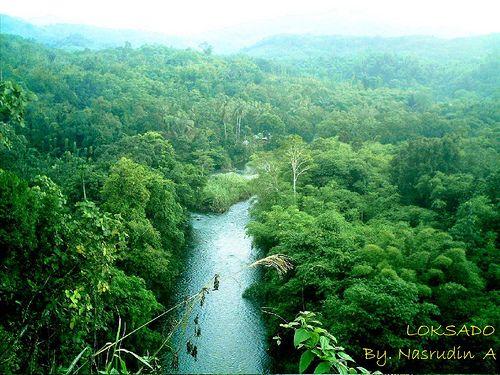 Amandit River at Loksado, Kabupaten Hulu Sungai Selatan, Kalimantan Selatan via kamaruHorde Kaskus