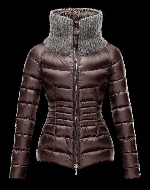 Doudoune Moncler Peliade Femme Moka   Coats   Jackets, Fashion, Coat 7e11472d5d3