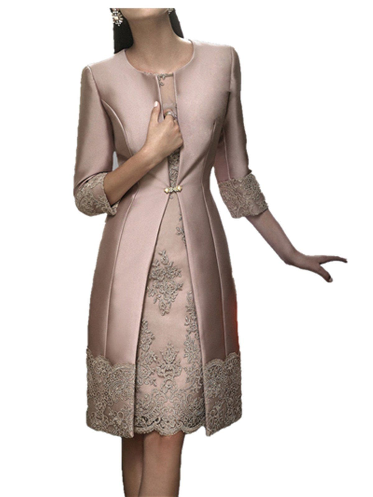 Womens dress and jacket for wedding
