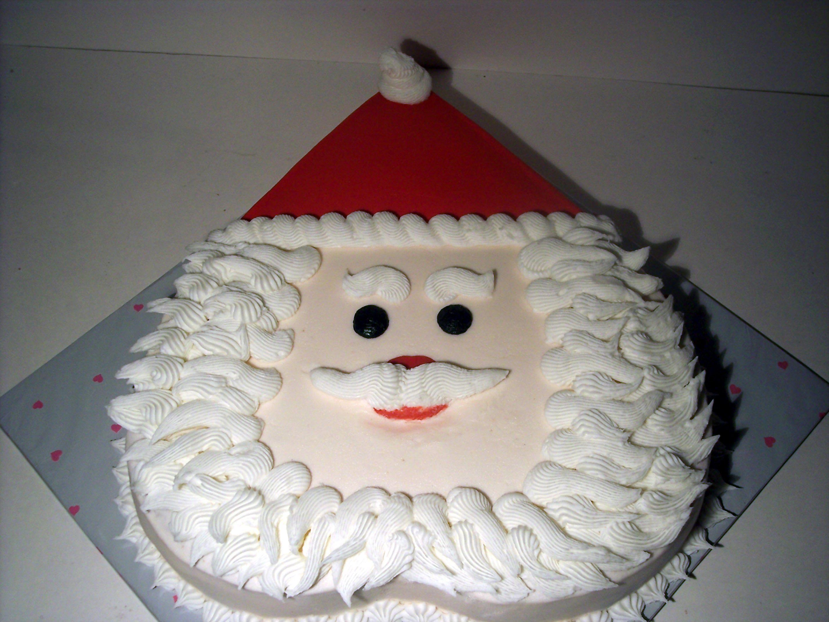 How to make a father christmas cake decoration - Christmas Cake Santa 103