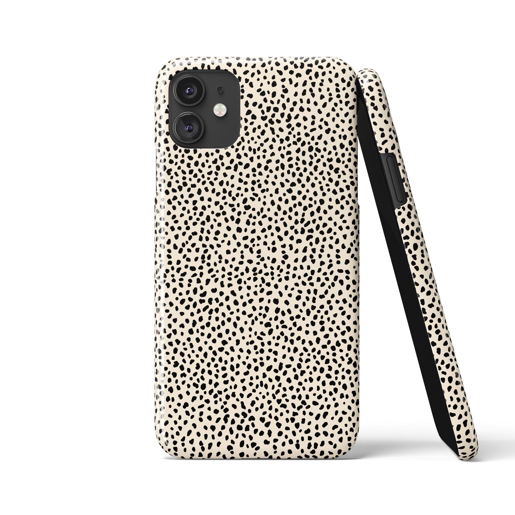 MINI DALMATIAN White Phone Case - iPhone 12 Pro / Snap Case - Gloss