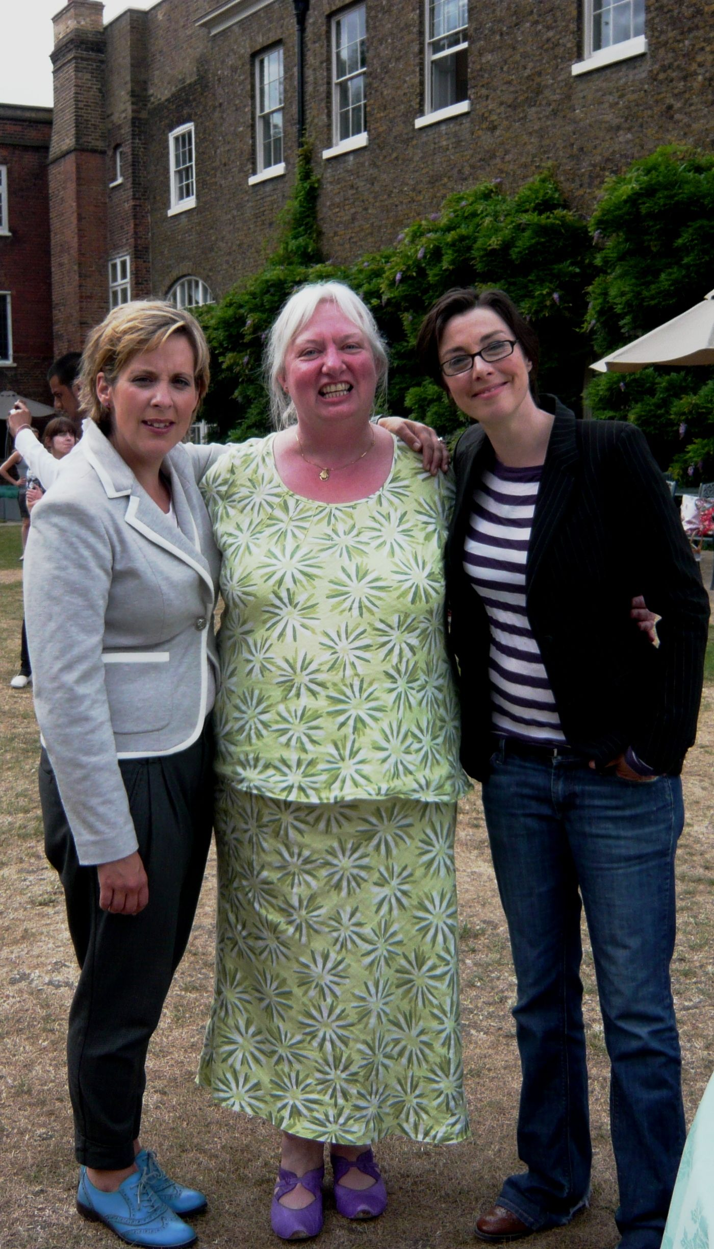 Mel, me and Sue at The Great British Bake Off final ...