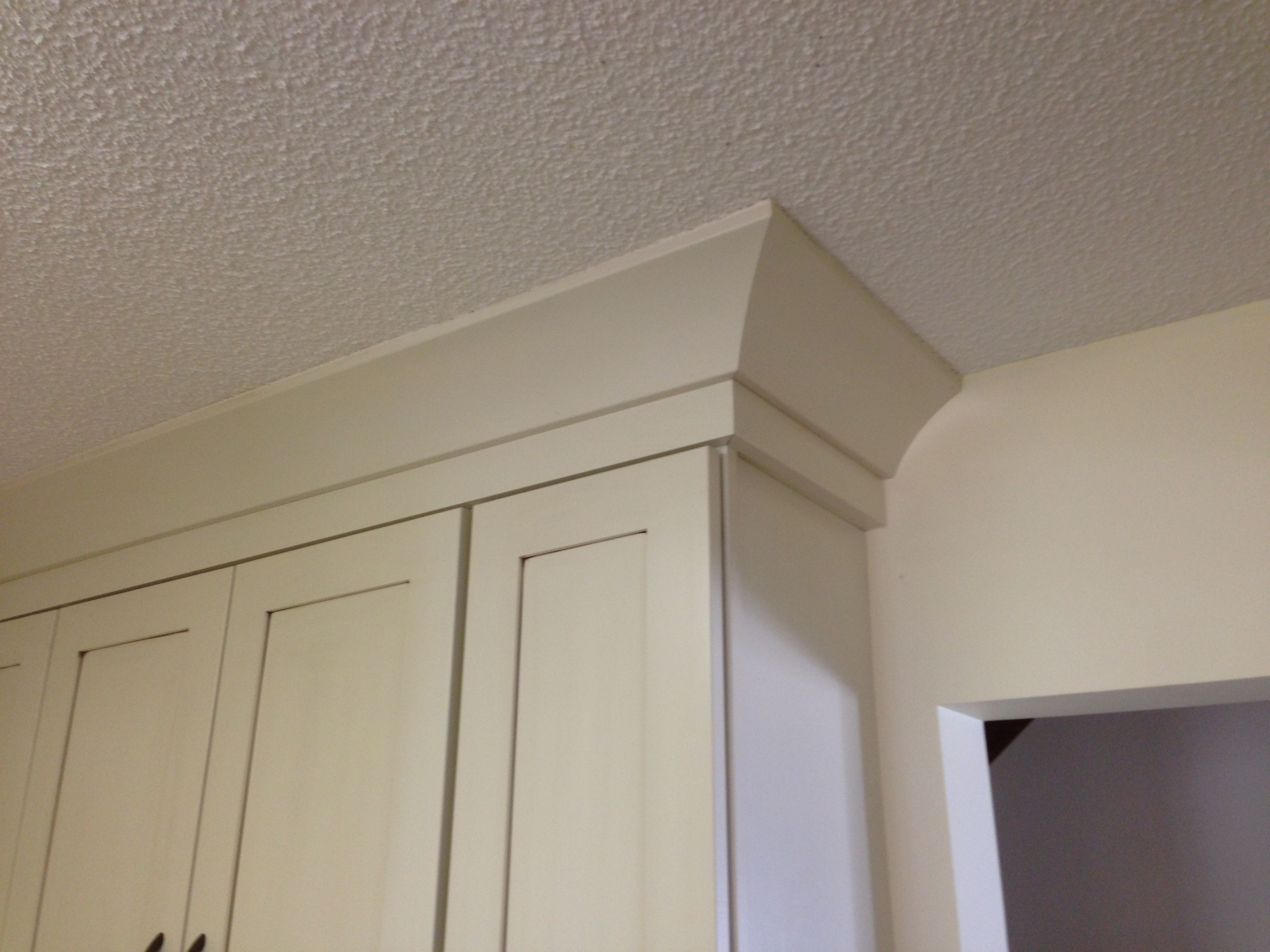 Cove Crown Moulding In 2019 Kitchen Island Molding
