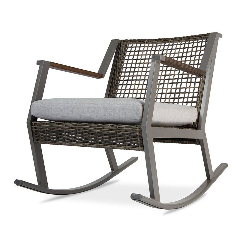 Calvin Rocking Chair With Cushion Outdoor Living Pinterest