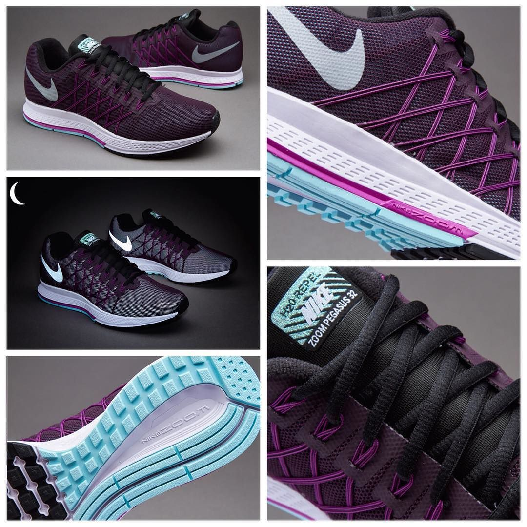 outlet store 33cea 4f850 ... Womens Nike Air Zoom Pegasus 32 Flash Running Shoes Purple Silver  Outlet Online Canada Instagram post by ريتزون فروشگاه اينترنتى ورزشى • Nov  20, ...