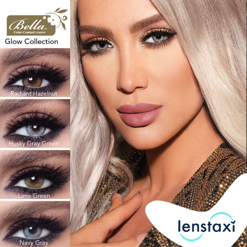 Glow Your Eyes With Bella Glow Colored Contact Lenses Shop Now On Www Lenstaxi Com With Express Delivery Contact Lenses Colored Colored Contacts Color Lenses