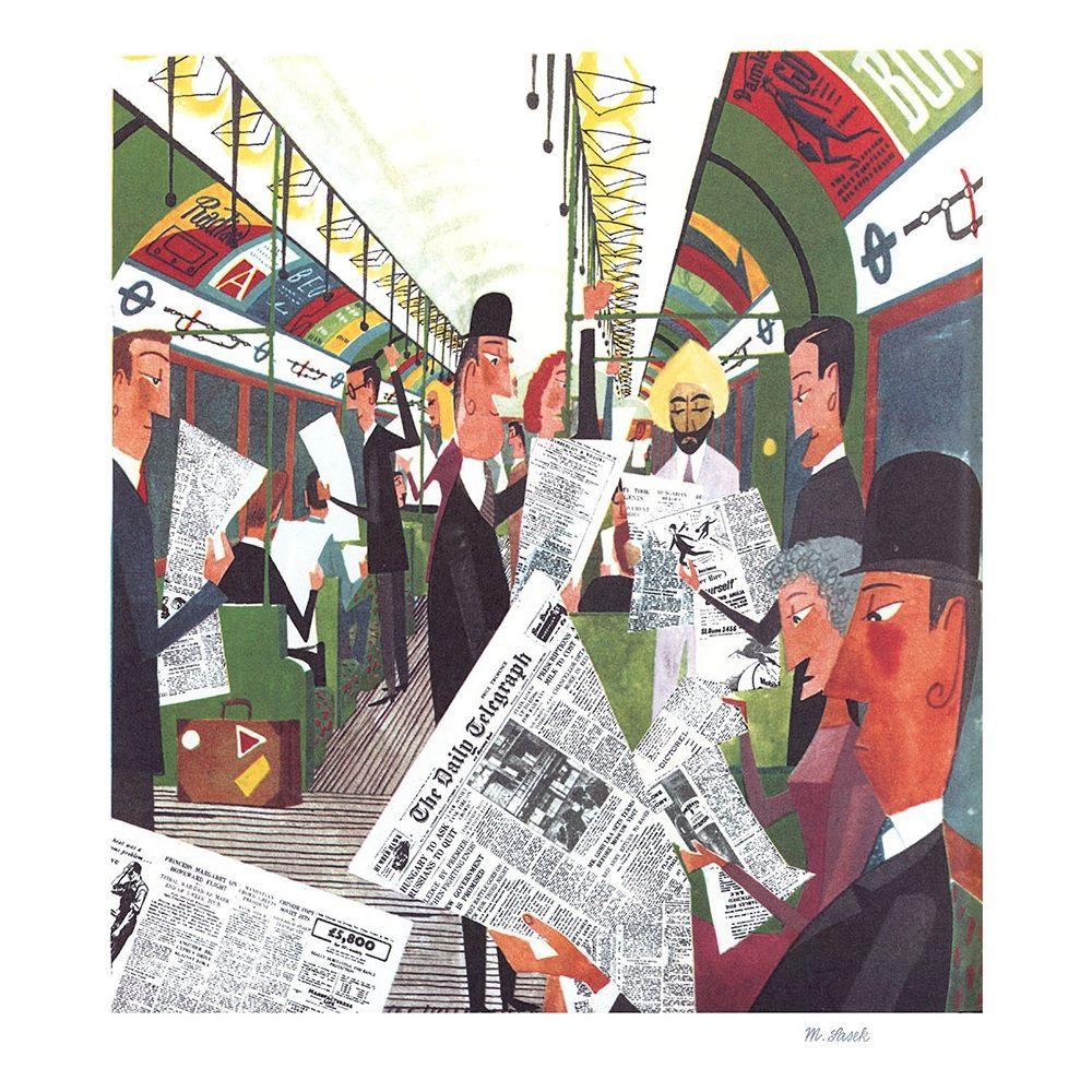 The London Underground By Miroslav Sasek London Transport Museum Shop London Art Illustrators Art Design