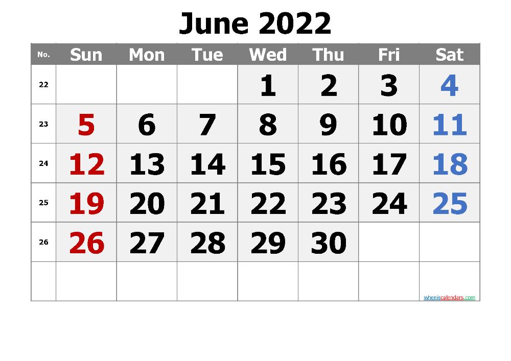 Free Printable Calendar June 2021 2022 And 2023 Calendar Printables Printable Calendar Template Monthly Calendar Printable