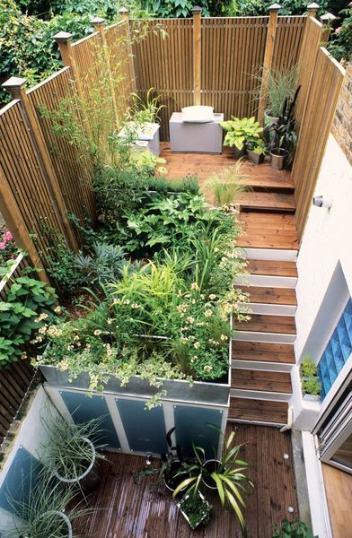 Am nagement petit jardin de ville 11 id es via pinterest - Idee de petit jardin ...