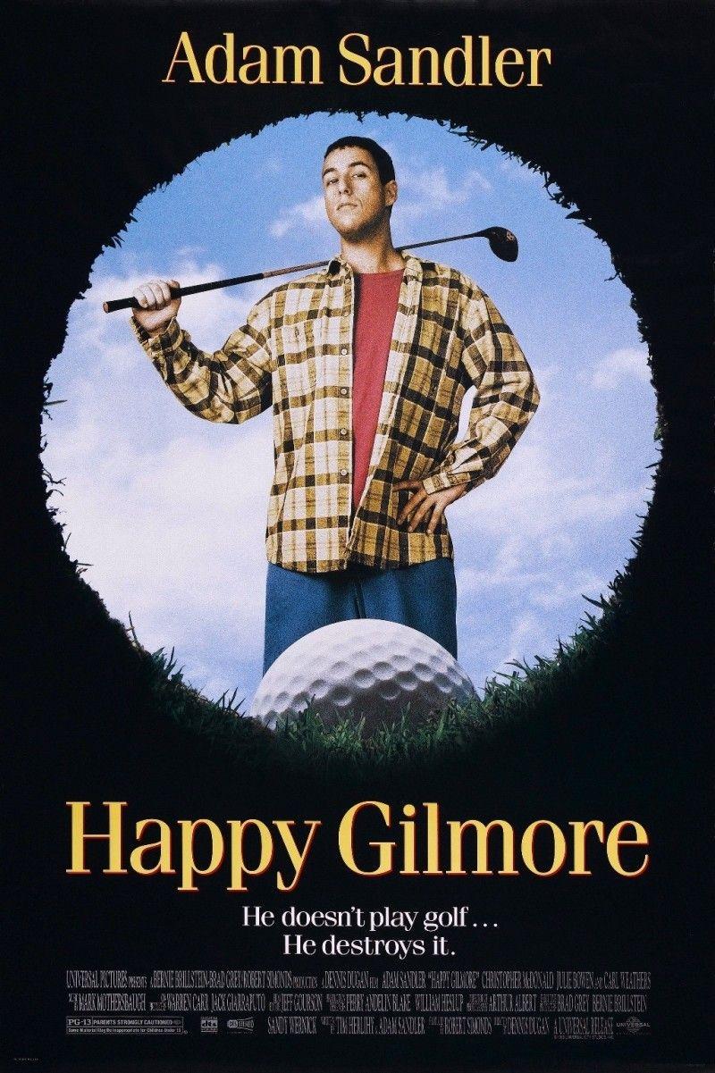 Happy Gilmore 1996 Comedy Movies Funny Movies Love Movie