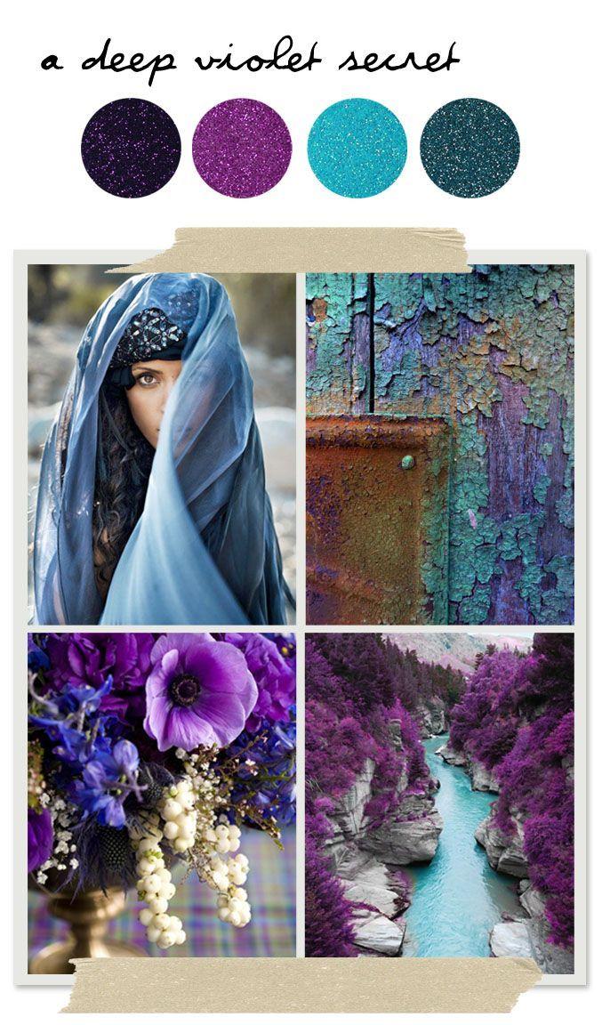 Violet & Blue