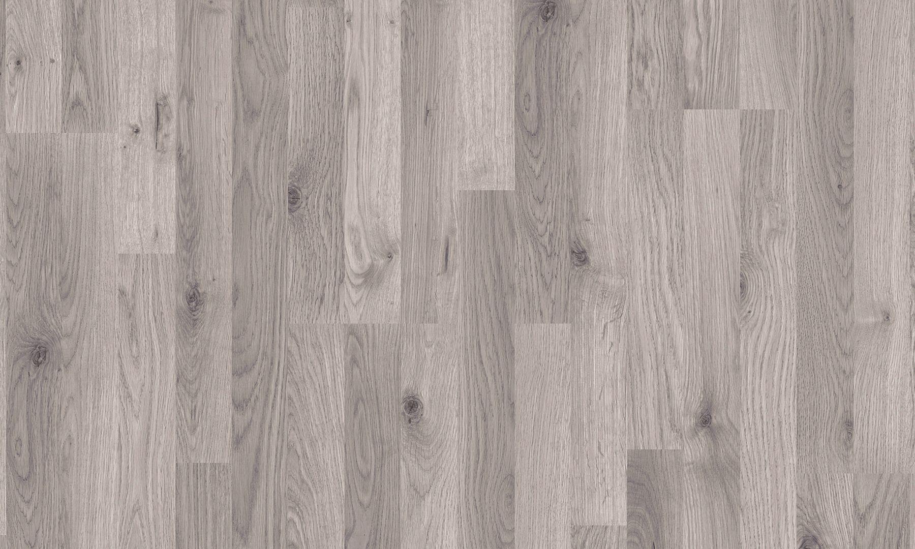 Pavimento in laminato effetto legno rovere grigio classico strip