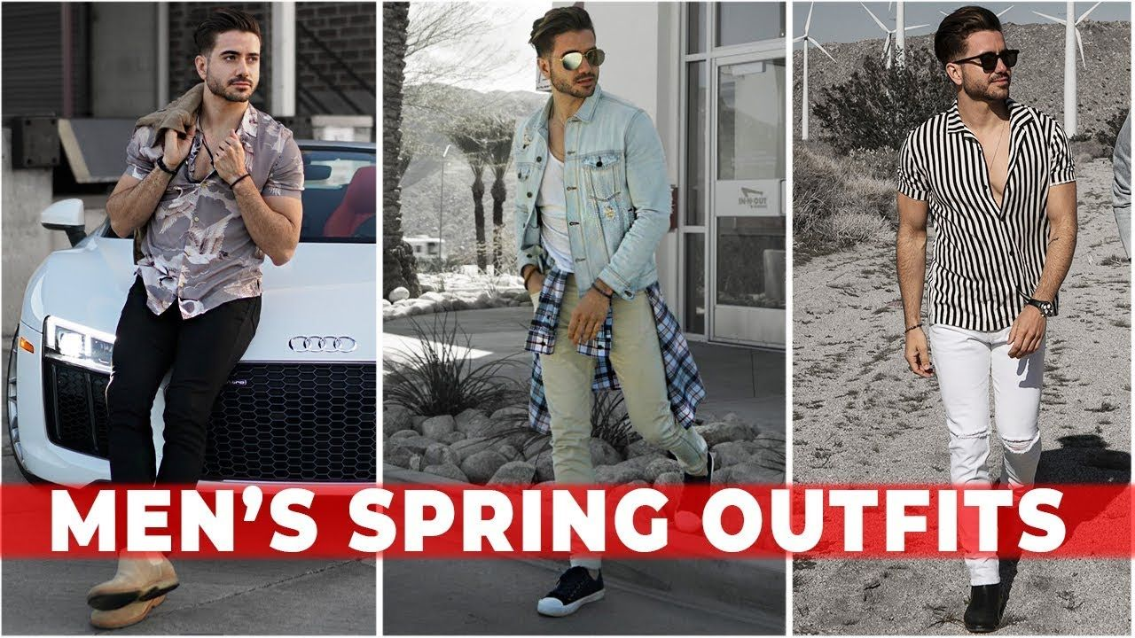 b4c6a288c7b 3 EASY SPRING OUTFITS FOR MEN 2018   Men's Festival Fashion & Style  Lookbook   Alex Costa - YouTube