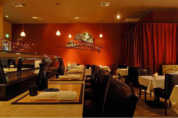Sushi restaurant interior restaurante design inspiration