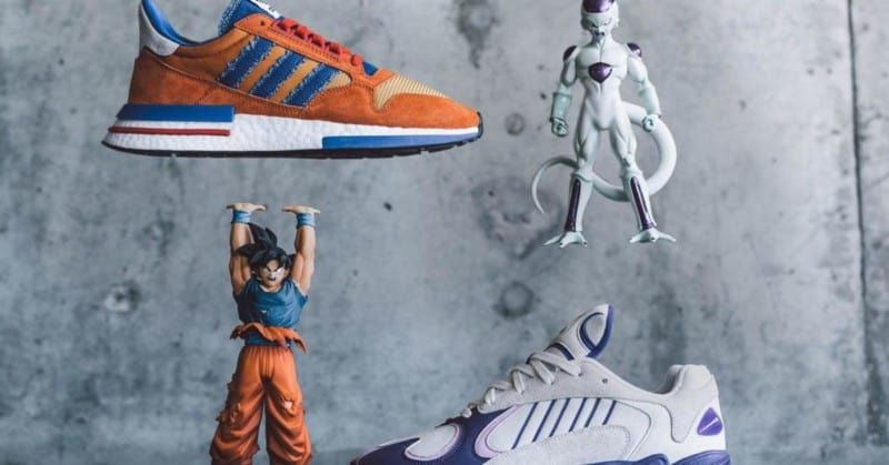 Adidas' First DRAGON BALL Z Shoes Sell out in Minutes