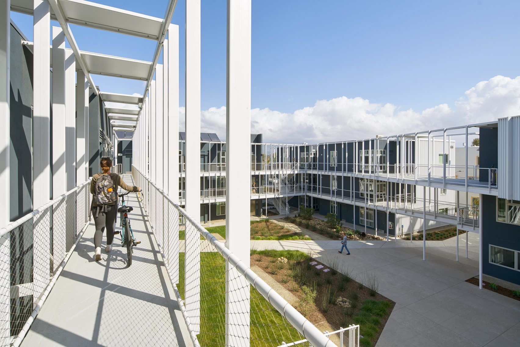 Loha S San Joaquin Student Housing Makes Most Of Coastal Climate Student House Nordic House Architecture Architect