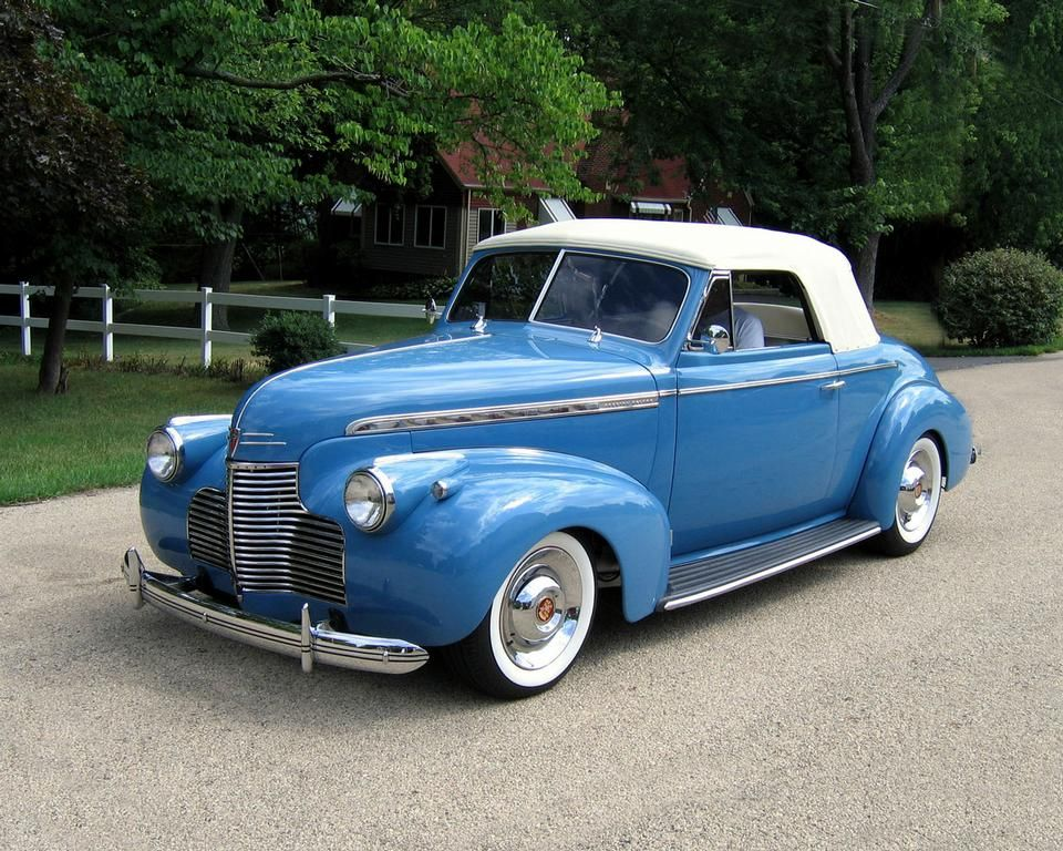 ◇1940 Chevy Coupe Convertible◇..Re-pin brought to you by agents of ...