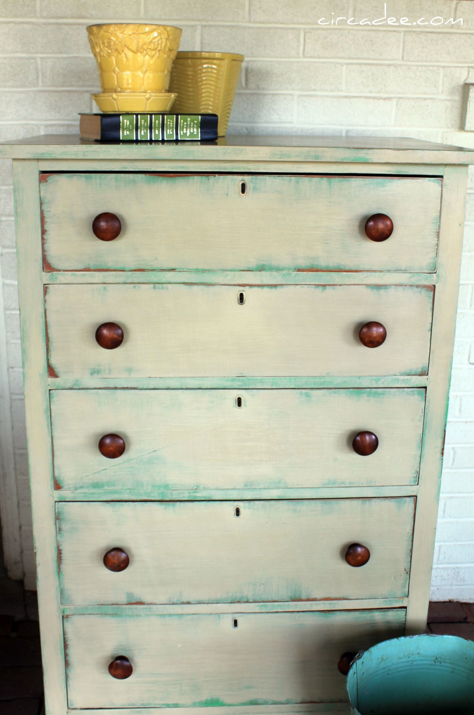 Annie Sloan Chalk Paint Versailles Antibes Green Dresser Re Do By Circa Dee Remade