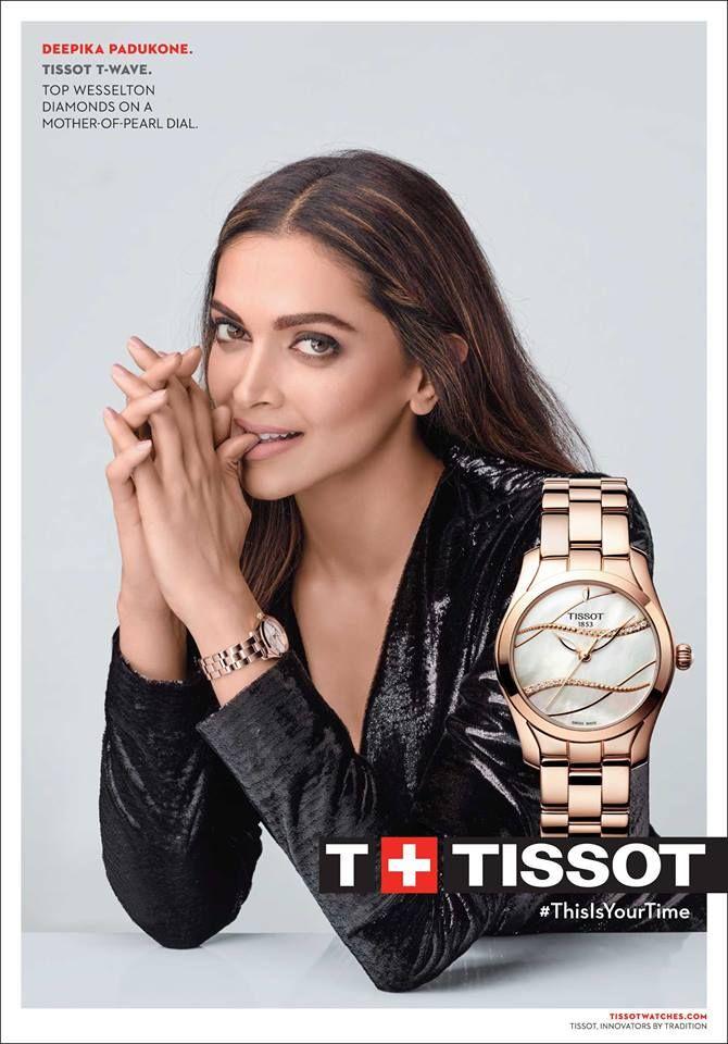 Deepika Padukone Tissot | Deepika padukone, Tissot ...