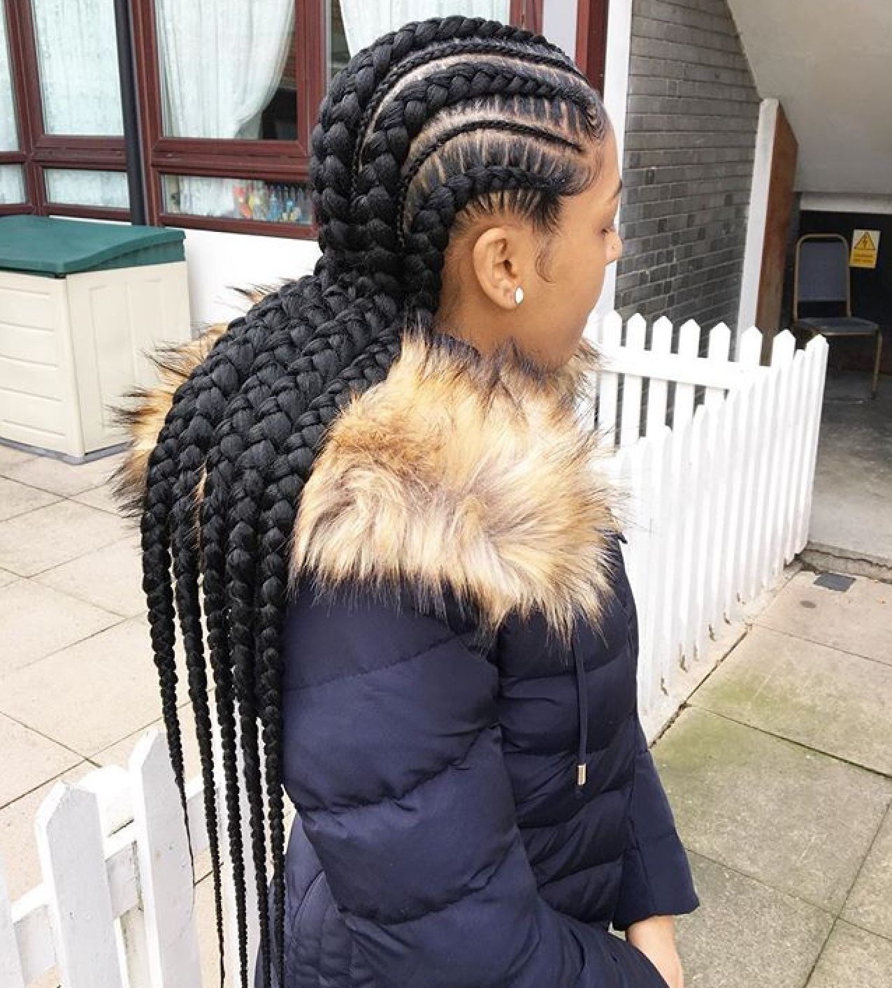 Stunningly Cute Ghana Braids Styles For 2018 | braided ...
