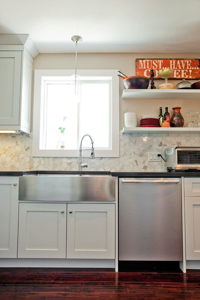 stainless steel undermount apron sink - Google Search ...