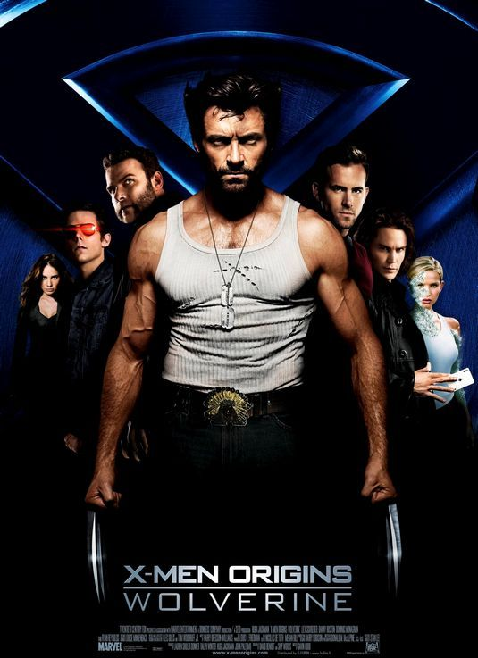 X Men Origins Wolverine Wolverine Movie Wolverine 2009 Wolverine Poster