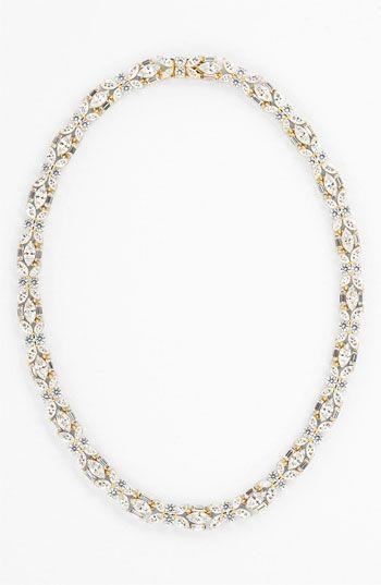 68b5f2799 Nadri Cubic Zirconia Cluster Collar Necklace (Nordstrom Exclusive) |  Nordstrom