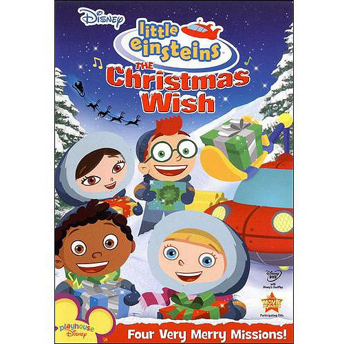The Christmas Wish Dvd Walmart Com Little Einsteins Christmas Wishes Einstein