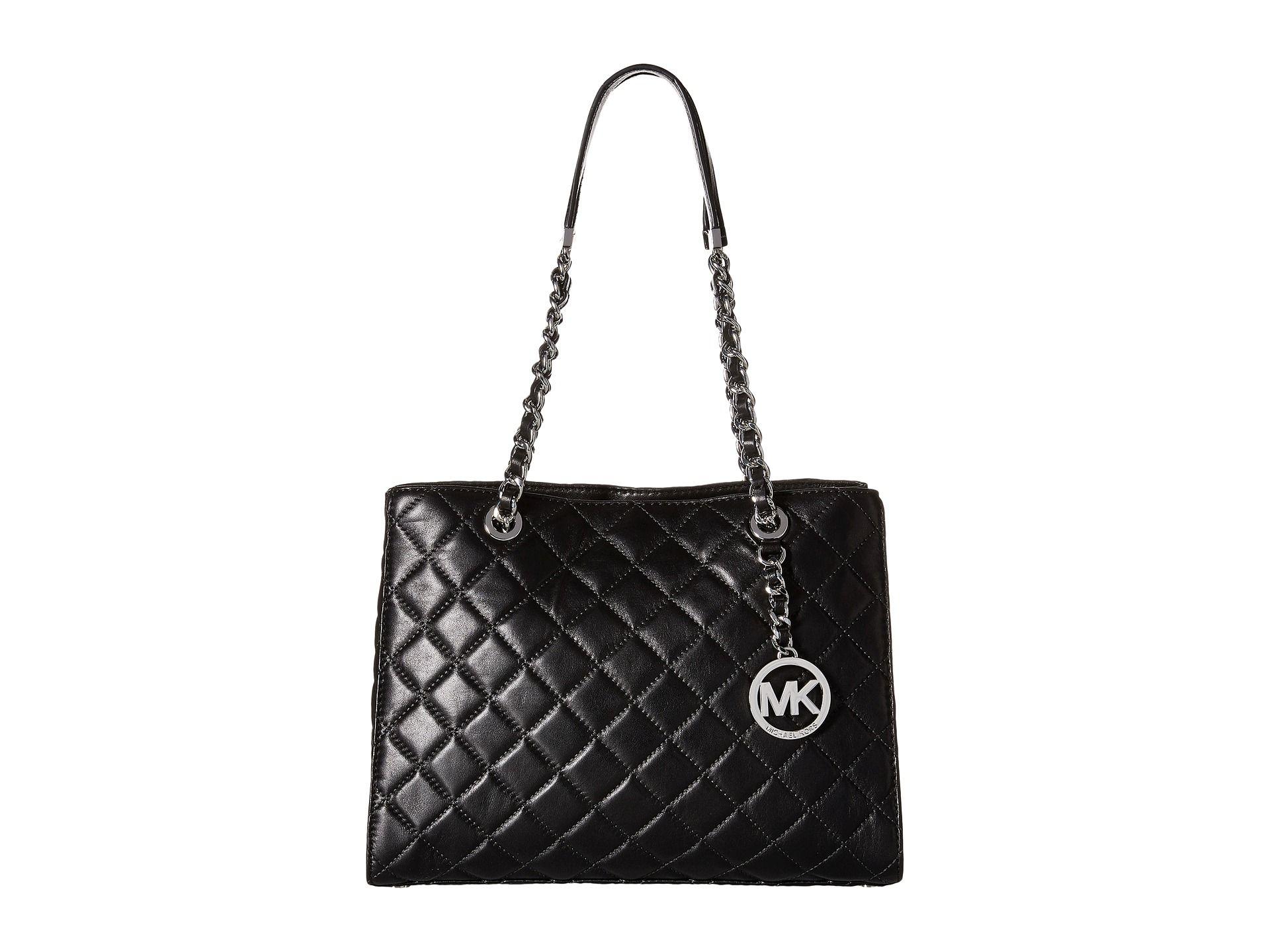 e4b518c5530b MICHAEL Michael Kors Susannah Medium Tote Medium Tote, Leather Shoulder Bag,  Tote Handbags,