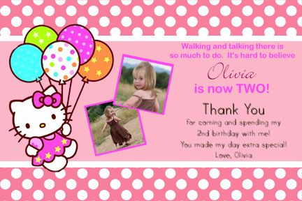 Details About Hello Kitty Custom Printable Photo Birthday