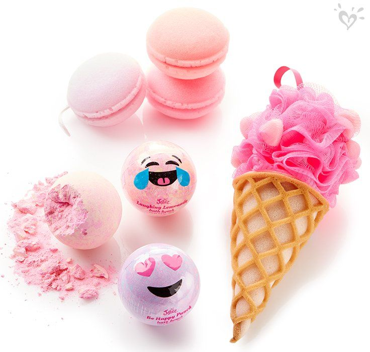 Scented Bath Bombs = Sweet Treats For Home-spa Fun