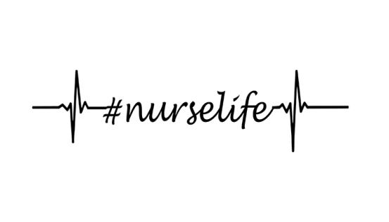 Download Nurse Life Heartbeat Free SVG File | Svg free files, Free ...